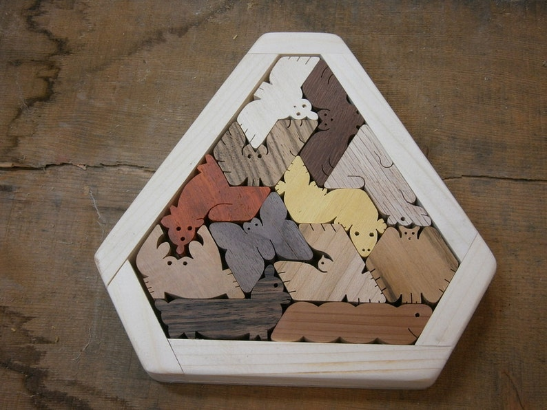 Unique Gift Hexiamond Triangle Frame 5000 Solutions