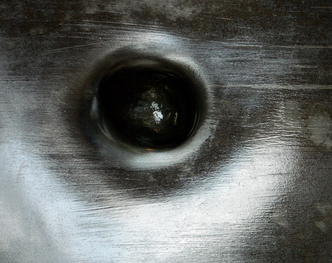 Steel Eye 2, Abstract Art, Black And White Photo, Contemporary Art, Modern Irish Art, Limited Edition Print, 75 Years Lifespan.