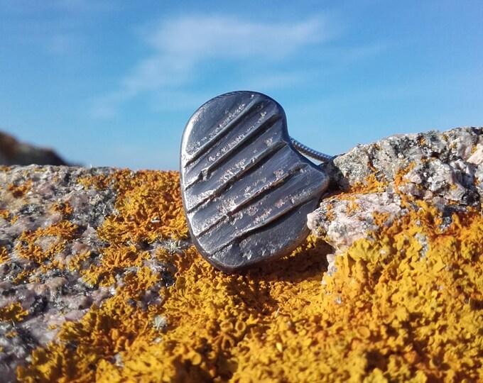 Silver Knight Armor Pendant by Ruairí O'Neill