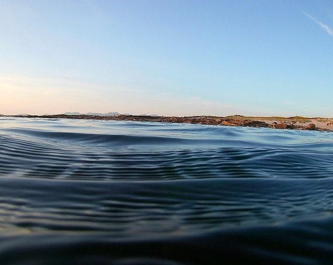 Evening Swim, Atlantic Ocean, Tranquil Water, Connemara Wall Decor Limited Edition