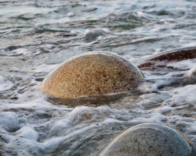 Round Stone Atlantic Ocean, Connemara, Limited Edition, Irish Landscape