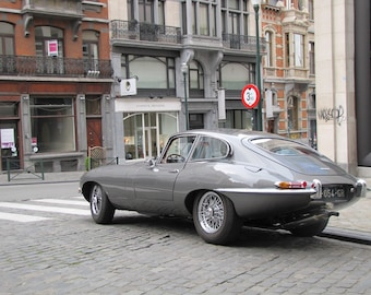 Jaguar E-Type 1969, Classic Cars, Sports Cars, Fast Car Limited Edition Photo