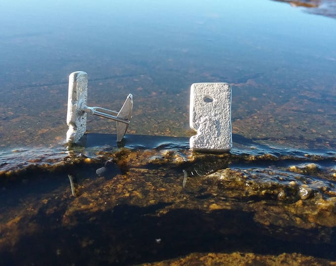An Fear The Man Silver Cufflinks by Ruairí O'Neill