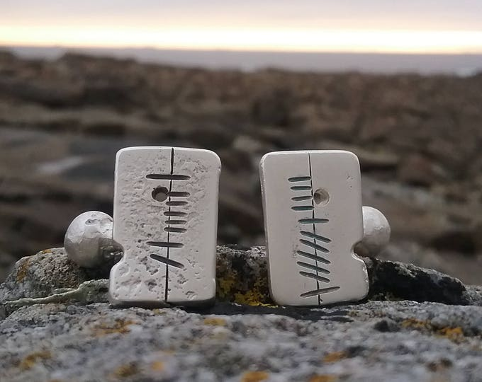 Sterling Silver Anam Cara Soul Friend  Cufflink, Handmade Cufflinks, Irish Made, Made in Ireland Jewellery, Jewellery for Anniversary, Men,