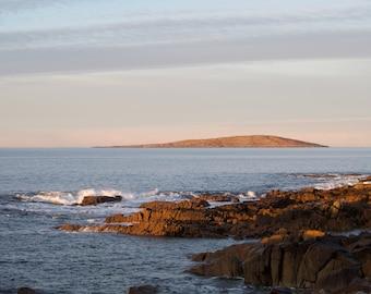 Deer Island Connemara, Limited Edition, Atlantic Ocean, Ireland,  Irish Landscape