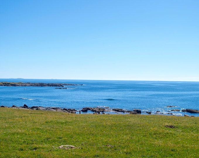 Connemara Atlantic Ocean, Islands, Blue Sea and Sky, Sun, Sailing, Paradise, Surf, Limited Edition Photo