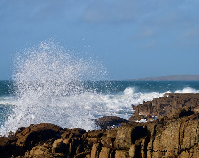 Atlantic Storm, Limited Edition Photo, Irish Landscape, Ireland, Galway