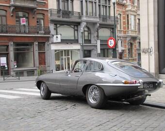 Jaguar E-Type 1969, Classic Cars, Sports Cars, Fast Car Limited Edition Photo