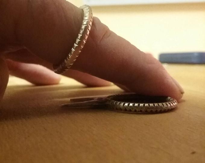 Tough Men's Designer Sports Adventure Brass Ring