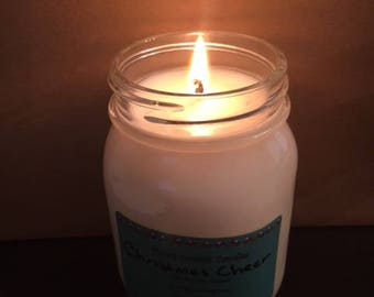 Moms Country Candles - 16oz Mason Jar 100% Soy Candle