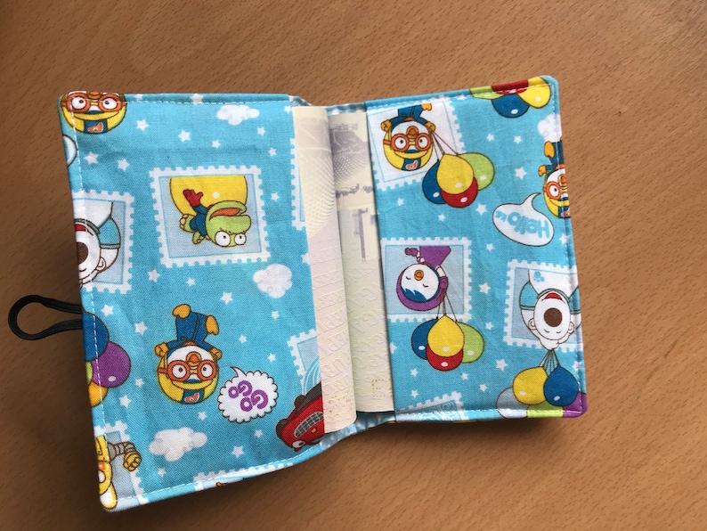 cute Pororo passport cover