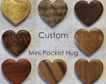 Custom Mini Pocket Hug Heart
