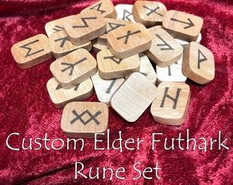 Custom Elder Futhark Rune Set