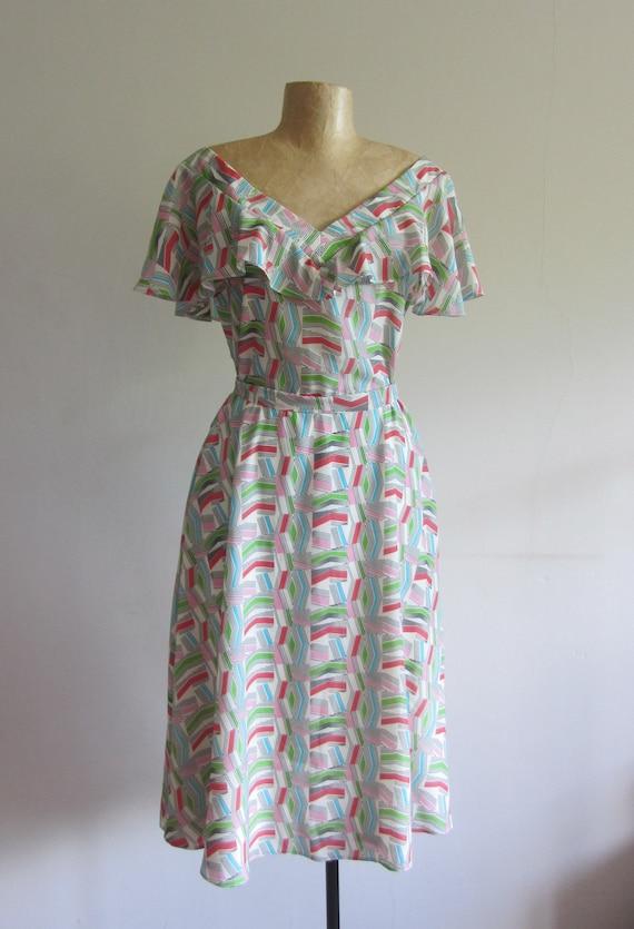 40s Vintage dress,handmade dress,dress,vintage 50s 30s,midi dress