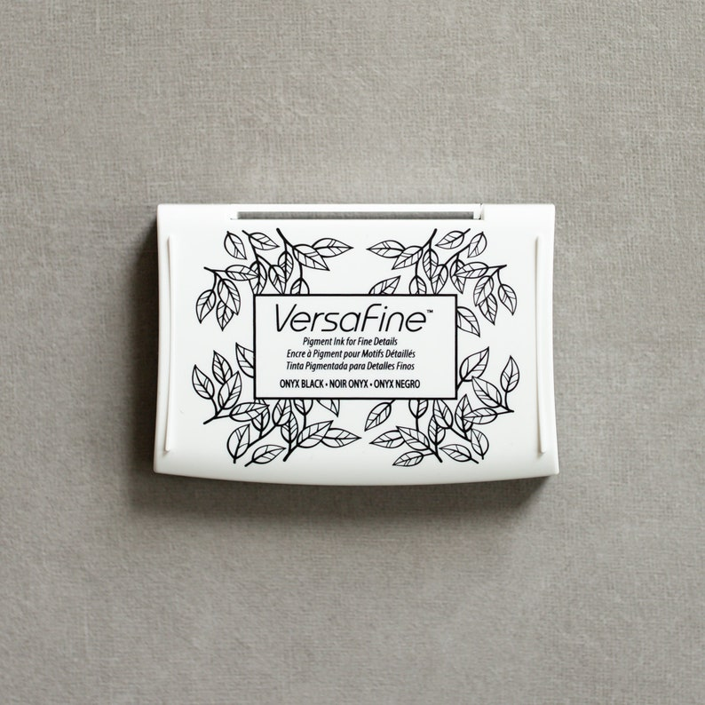 Versafine Ink Pad for Rubber Stamps image 0