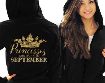 Funny Slogan Unisex Hoody Top I/'m 99/% Sure That I/'m A Princess GLITTER Hoodie