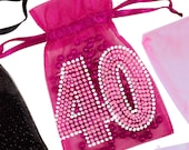 4Oth Birthday Favor Bags