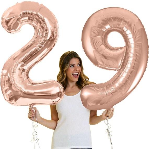 number 29 birthday balloon