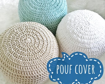 Pouf Cover Etsy