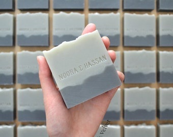 Custom Stamped Soap Favours - Personalised for your Wedding, Bridal Shower, Baby Shower, Birthday, Anniversary