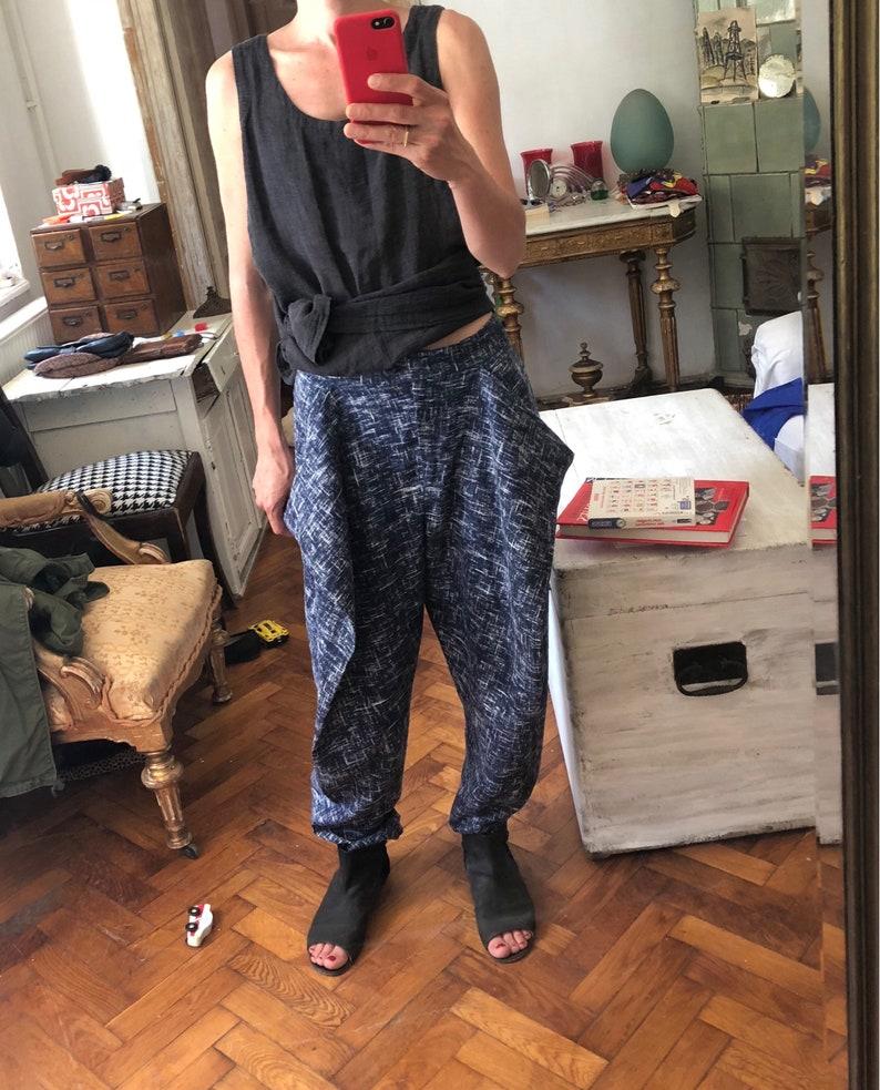 207c296025 38 / S M Vivienne Westwood Ramie Linen Punk Avantgarde Hose | Etsy