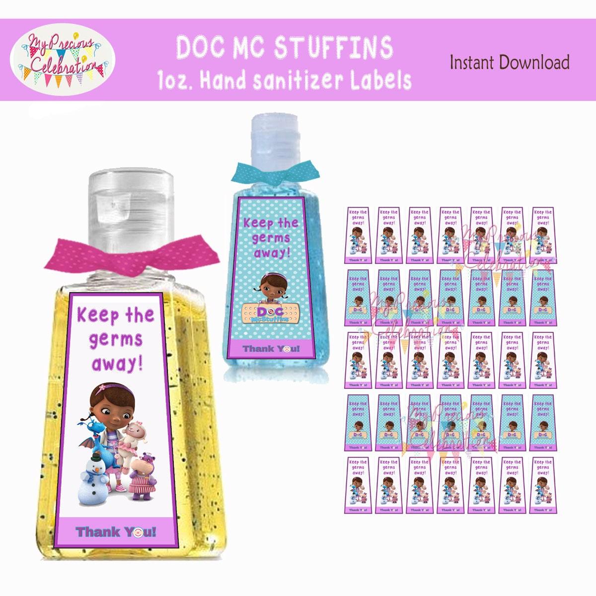 Digital Doc Mcstuffins Instant Download 1 Oz Hand