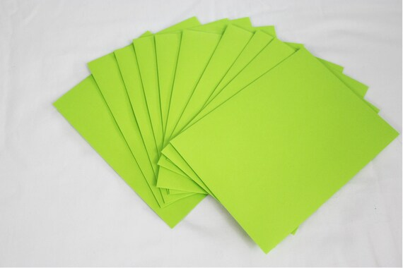 10 neon green 4x6 invitation envelopes set of 10 size a6 etsy