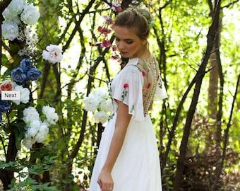 Dayflower- wedding dress
