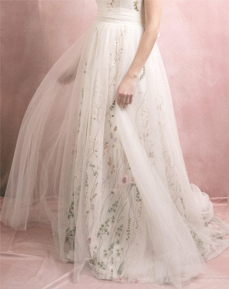 Florencia wedding dress Floral wedding dress image 0