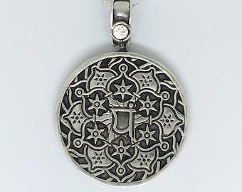 """New Sterling Silver """"Love"""" Pendant - with chain"""
