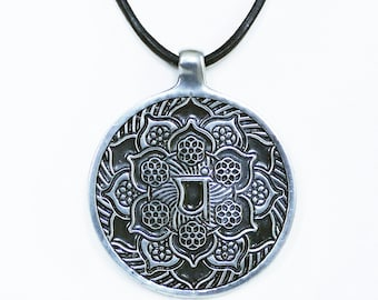 Sacred Geometry Heart Chakra Torus for powerful creativity pendant