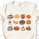 Soft Unisex Bella - It's the Little Things Pumpkins Harvest Halloween Thanksgiving Fall