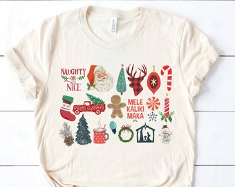 It's the Little Things | Happy Holidays & Merry Christmas | UNISEX Relaxed Jersey T-Shirt