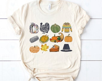 It's the Little Things | Fall Thanksgiving Feast | UNISEX Relaxed Jersey T-Shirt
