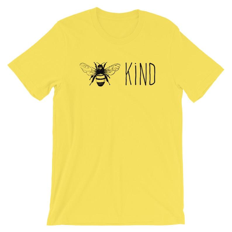 Bee Kind Soft Short-Sleeve Unisex T-Shirt image 0