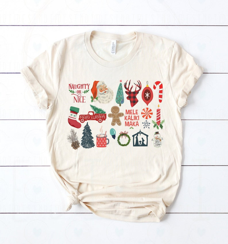 Soft Unisex Bella  It's the Little Things Christmas image 0