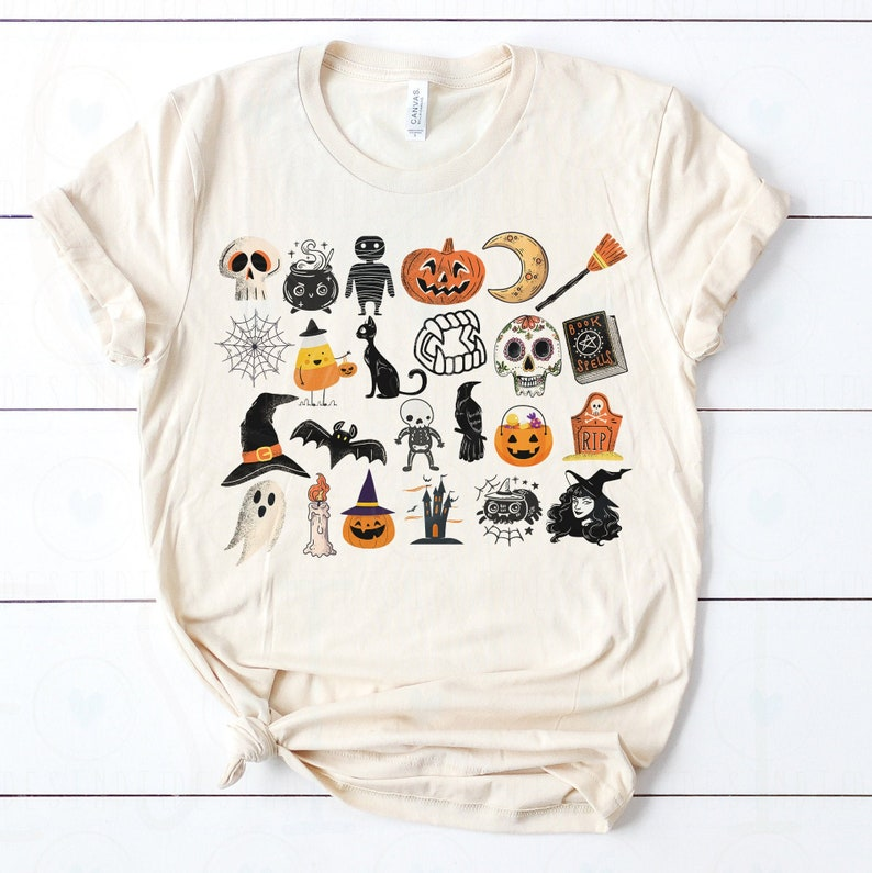 Soft Unisex Bella  It's the Little Things Halloween image 0