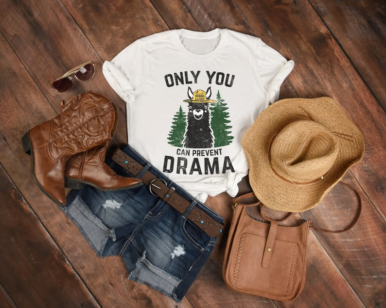 Only You Can Prevent Drama Llama Smokey Parody Bear Super Soft image 0