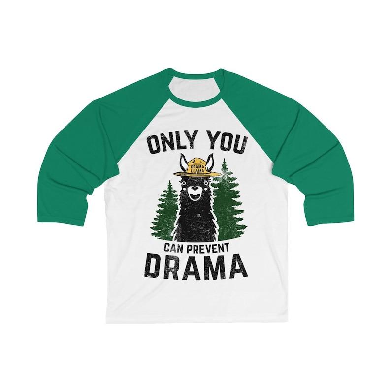 Only You Can Prevent Drama Llama Smokey Parody Bear Unisex 3/4 image 0