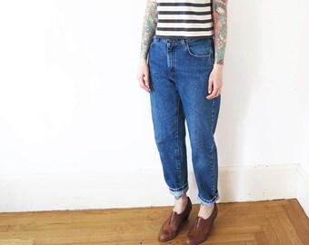 28w// vintage lee high waisted mom jeans// 28W