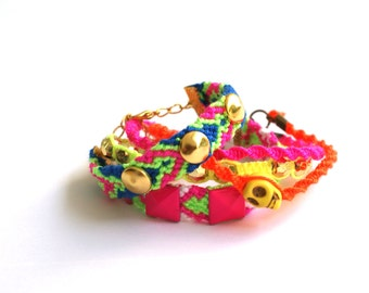 Studded Tribal Bracelet.