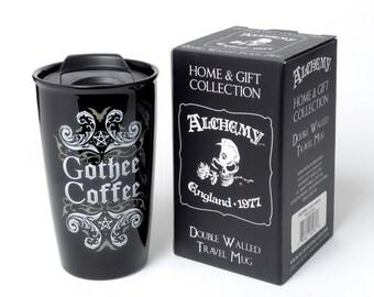 Gothee Coffee Double Walled Mug