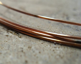 Copper Wire 20 Gauge 5 Foot - Copper Wire, Natural Copper Wire, 20 Gauge Wire, Round Wire, Dead Soft Wire, DIY Wire, Cheap Wire, Jewelry