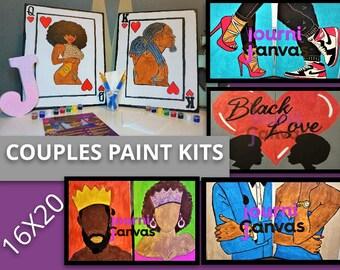Paint Party Kit Etsy