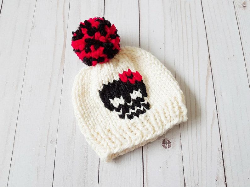 97cf7c407b1 The Skull Beanie Knitting Pattern Digital Download Knit