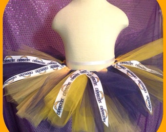San Diego Chargers Tutu newborn to adult sizes