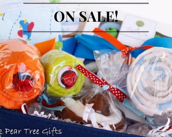 0a4ae98fd067 The CUTEST Baby Gift Basket Baby Boy Gift Basket