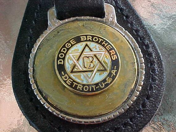 Badge Dodge Bros Detroit Metal Lapel Pin