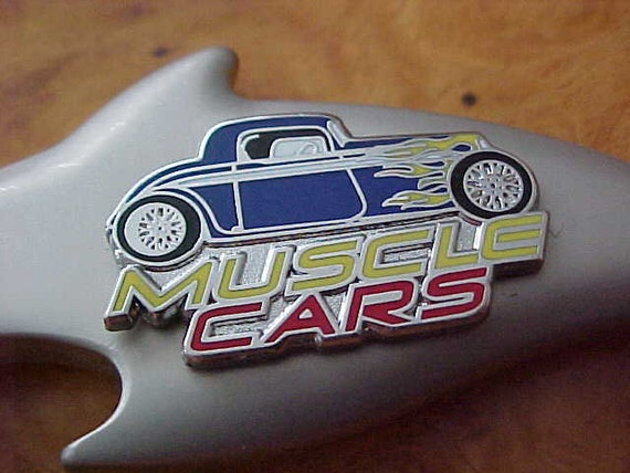 MUSCLE CARS Jacksonville Beach Florida Shark Attack Key Ring Custom Made  Hot Rod Pewter Bottle Opener Beach Sun Surf Tourist Defunct Unique