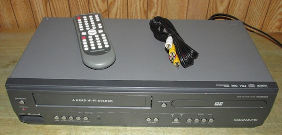 Magnavox DV225MG9 DVD & VCR Combo Dvd Player Vhs Vcr Combo with Remote and  Cables